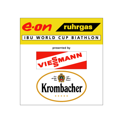 E-on Ruhrgas IBU Biathlon Worldcup logo vector