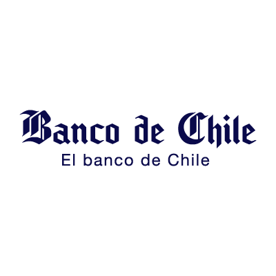 El Banco de Chile logo vector