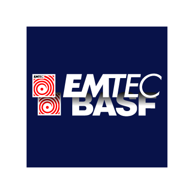 EMTEC BASF logo vector