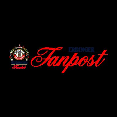 Erdinger Fanpost logo vector