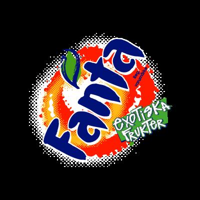 Fanta Exotiska logo vector