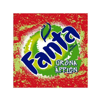 Fanta Green Apple logo vector