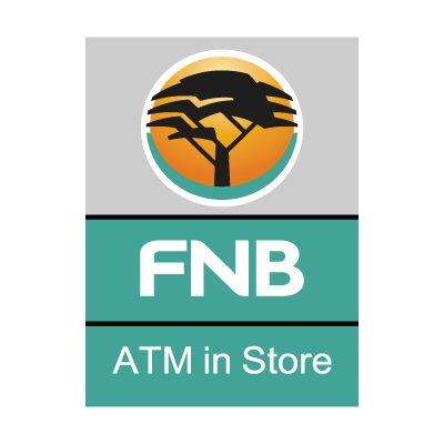 First National Bank ATM logo vector