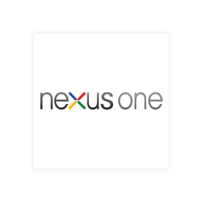 Google nexus one logo vector