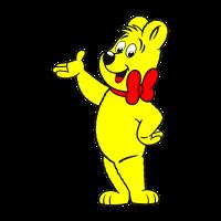 Haribo bear vector logo