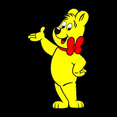 Haribo bear logo vector