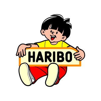Haribo boy logo vector