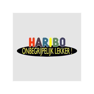 Haribo Onbegrijpelijk lekker logo vector