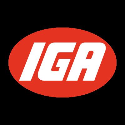 IGA vector logo
