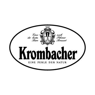 Krombacher Black logo vector