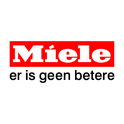 Miele dutch payoff logo vector