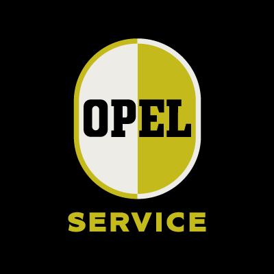 Opel Service logo vector