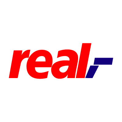 Real logo vector