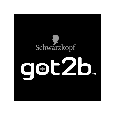 Schwarzkopf got2b Black vector logo