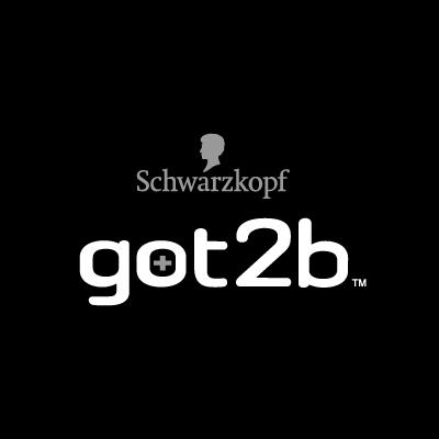 Schwarzkopf got2b Black logo vector
