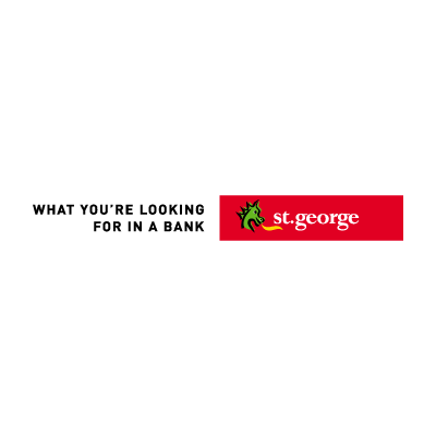 St. George Bank Australian logo vector
