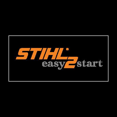 Stihl easy 2 start logo vector
