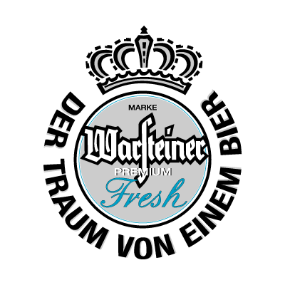 Warsteiner Premium Fresh Beer logo vector