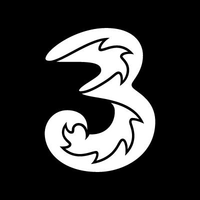 3 Mobile logo vector