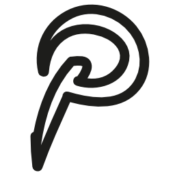 Pinterest hand drawn logo