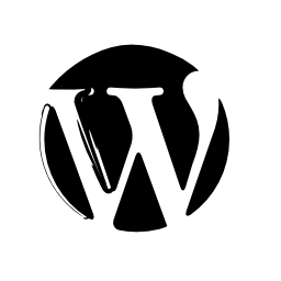 WordPress sketched logo
