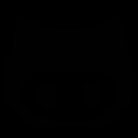 Github logo face