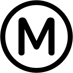 Paris transport metro logo
