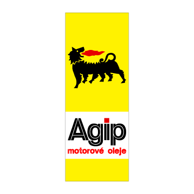 Agip Motor oil logo vector