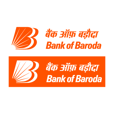 Bank of Baroda BoB logo vector