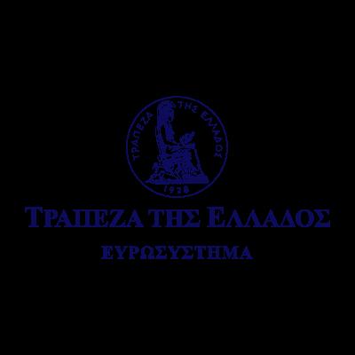 Bank of Greece 1927 logo vector