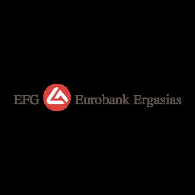 EFG Eurobank Ergasias logo vector