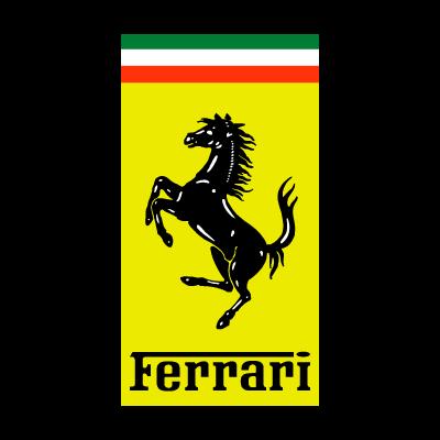 Ferrari Auto logo vector