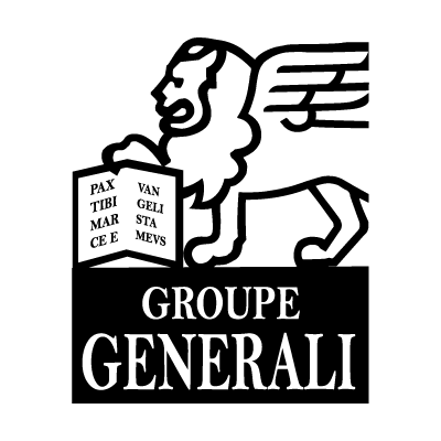Groupe Generali Black logo vector