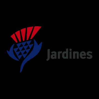 Jardines logo vector