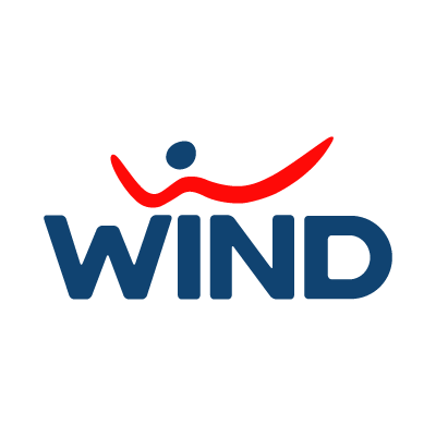 Wind Telecom logo vector