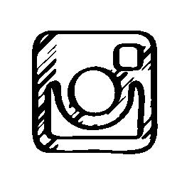 Instagram sketched logo