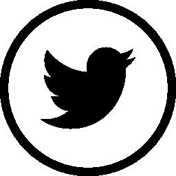 Twitter circular button