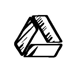 Google drive sketched logo
