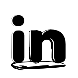Linkedin sketched logo