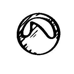 Grooveshark logo sketch variant