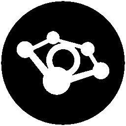 Tribe social logotype