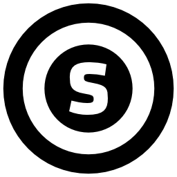 Glasgow circular metro logo symbol