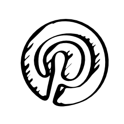 Pinterest sketched logo