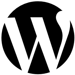 WordPress circular logo