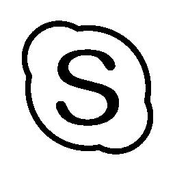 Skype, IOS 7 interface symbol