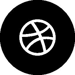 Dribbble circle