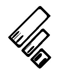 Feedly logo sketch