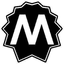 Rome metro logo
