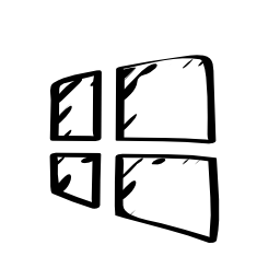Windows 8 sketched logo