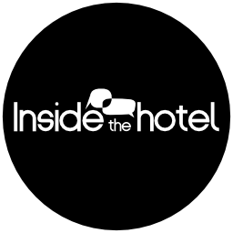 Inside the hotel logotype